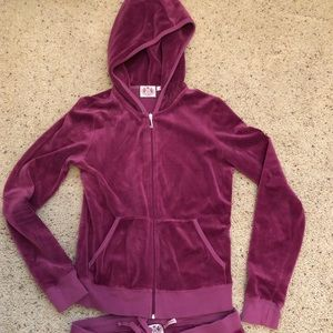 Juicy Couture Tracksuit in MAGENTA